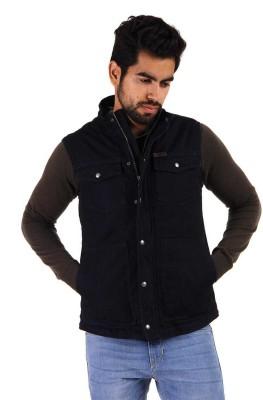 U.S.Polo Association Sleeveless Solid Men's Jacket