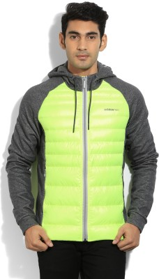 Adidas Full Sleeve Solid Mens Jacket