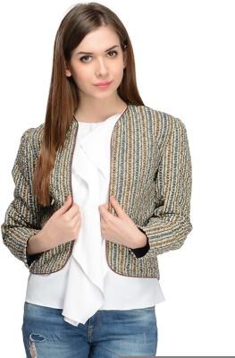 Nangalia Ruchira Full Sleeve Checkered Women's Jacket