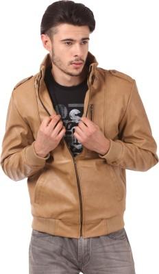 Loveleather Full Sleeve Solid Men's Jacket