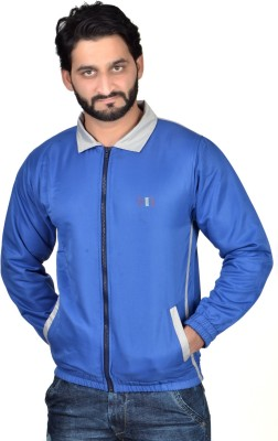 Nex Run Full Sleeve Solid Men's Jacket