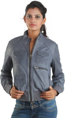 Ikks Full Sleeve Self Design Women's Jacket