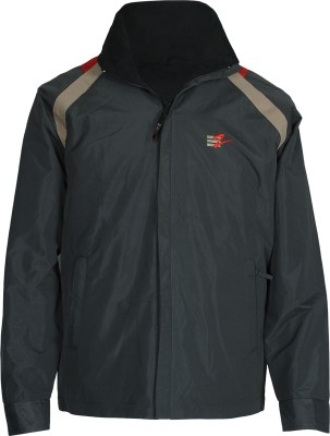 Ezone Full Sleeve Solid Men's Polyster Jacket