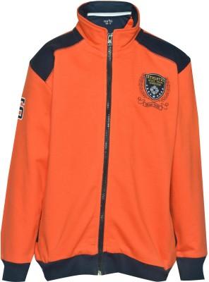 Gini & Jony Full Sleeve Solid Boy's Jacket