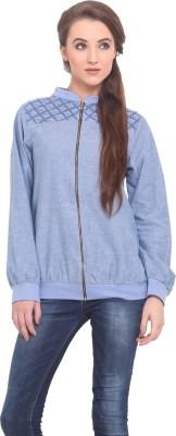 Instacrush Full Sleeve Solid Women's Jacket