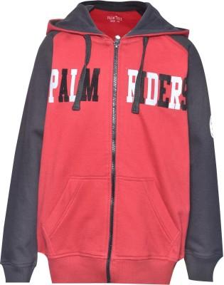 Gini & Jony Full Sleeve Printed Boy's Jacket