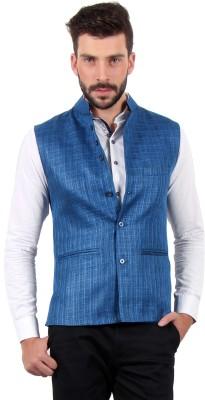 SOLEMIO Sleeveless Solid Men's Jacket