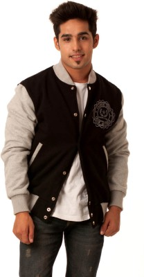 Caliber India Full Sleeve Solid Men's Jacket