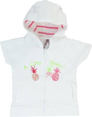 Indirang Half Sleeve Printed Girls Jacket