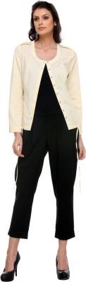Kaaryah Full Sleeve Solid Women's Jacket Jacket