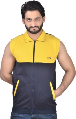 Nex Run Sleeveless Solid Men's Jacket