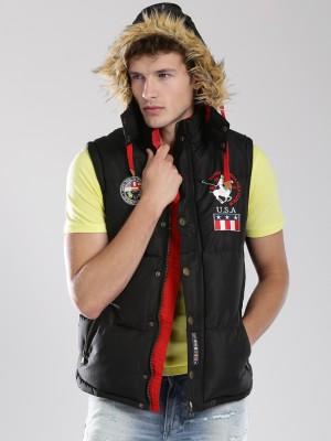 Santa Monica Sleeveless Solid Men's Jacket