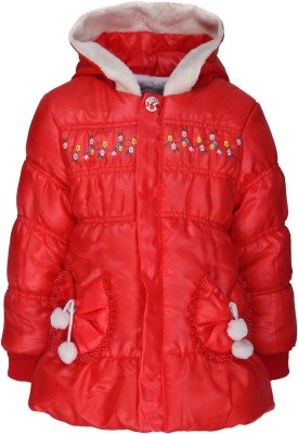 Sakhi Sang Full Sleeve Solid Girl's Quilted Jacket