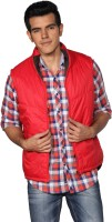 Provogue Sleeveless Solid Mens Quilted Jacket