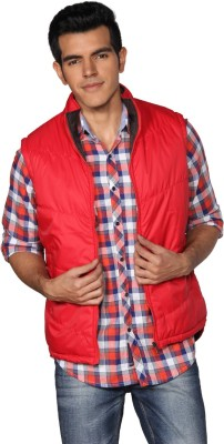 Provogue Sleeveless Solid Men's Quilted Jacket