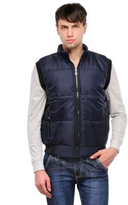 TSX Sleeveless Solid Men's Bomber Jacket
