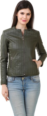 Shemrock Full Sleeve Solid Women's Jacket at flipkart
