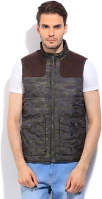 U.S. Polo Assn. Sleeveless Printed Men,s Jacket