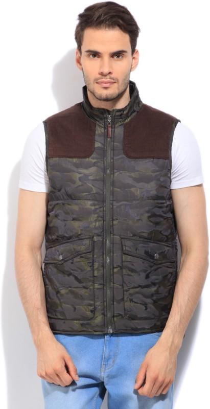 U.S. Polo Assn. Sleeveless Printed Men's Jacket