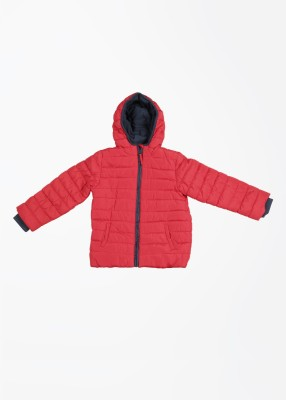 Mothercare Full Sleeve Striped Boy's Quilted Jacket