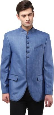 GIVO Full Sleeve Solid Men's Linen Jacket