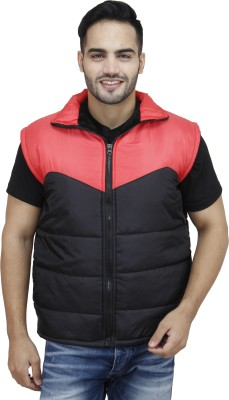Rakshita's collection Sleeveless Solid Men's Jacket