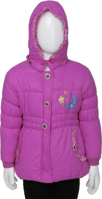 Addyvero Full Sleeve Solid Girl's Jacket
