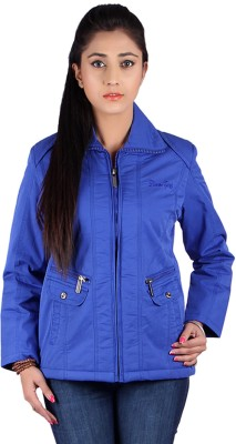 Slims Full Sleeve Solid Women's Quilted Jacket