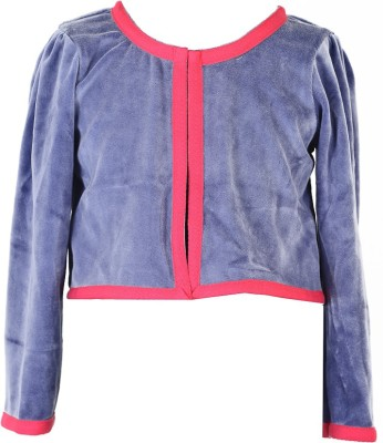 MARSHMALLOW Full Sleeve Solid Baby Girl's Jacket