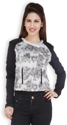 Free Spirited Full Sleeve Printed Women's Jacket