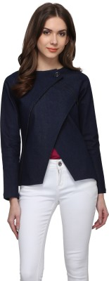 Athena Full Sleeve Solid Women's Jacket at flipkart