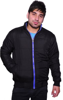 Frostini Full Sleeve Solid Men's Quilted Jacket