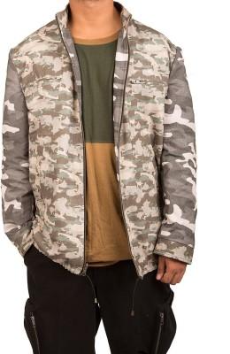 Wildage Full Sleeve Printed Men,s Jacket
