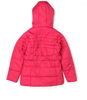 London Fog Full Sleeve Solid Girl's Jacket