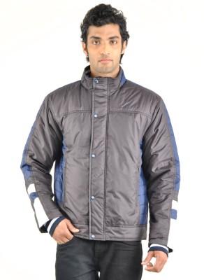 Truccer Basics Full Sleeve Solid Men's Slim Fit Bomber Biker Jacket