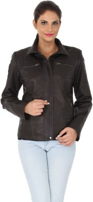 Kosher Full Sleeve Solid Women's Quilted Jacket