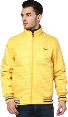 Okane Full Sleeve Self Design Men,s Cotton Jacket