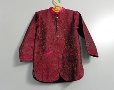 Kala Kids Full Sleeve Self Design Boys Jacket