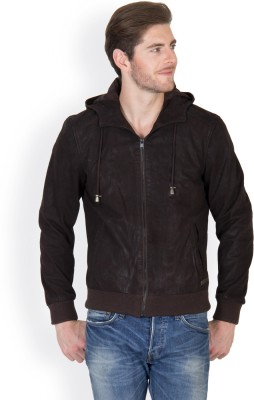 JUSTANNED Full Sleeve Solid Men's Bomber Jacket