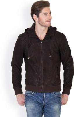 JUSTANNED Full Sleeve Solid Men's Bomber Jacket