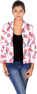 Vizwa Full Sleeve Floral Print Women's Jacket