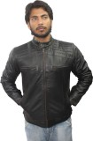Tarana Leather Art Full Sleeve Solid Men...