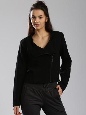 HRX by Hrithik Roshan Full Sleeve Self Design Womens Jacket