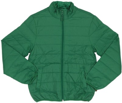 United Colors of Benetton Full Sleeve Striped Boy's Quilted Jacket