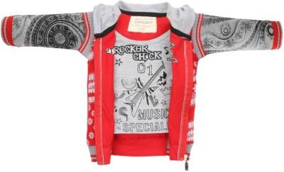 TonyBoy 3/4 Sleeve Printed Boy's Jacket