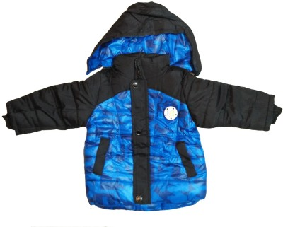Icable Full Sleeve Solid Boy's Jacket