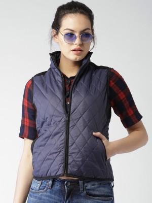 Mast & Harbour Sleeveless Woven Women,s Jacket