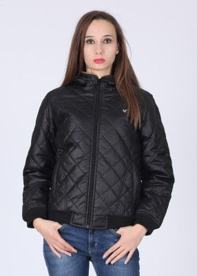 Lee Full Sleeve Checkered Women's Quilted Jacket Jacket