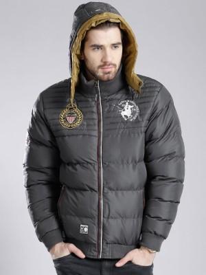 Santa Monica Full Sleeve Self Design Men's Jacket