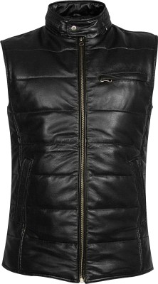 toog Sleeveless Self Design Men's Jacket